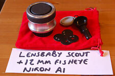 Lensbaby Scout With 12mm Fisheye, Nikon F Mount, F4-F22 - Lomography, landscapes