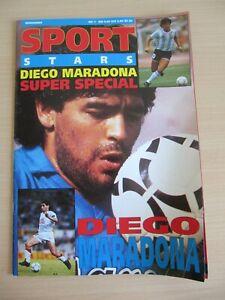 SPORT STARS Diego Maradona SUPER SPECIAL Nr. 1 Magazin Zeitschrift