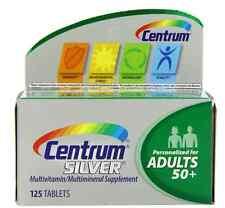 Centrum Silver Tablets 125 Tablets