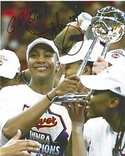 Tamika Catchings Signed 8 x 10 Photo Wnba Basketball Indiana Fever Free Shipping