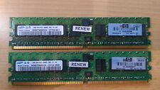 Samsung M393T5660QZA-CE7Q0 2 x 2 GB PC2-6400 Memory 4 GB Kit, HP 499276-061