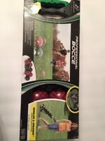Eastpoint Tournament Bocce Set with Carrier New In Box MSRP $179