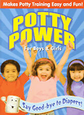 Potty Power for Boys and Girls Best Video Award Gold Seald in a 1''box(original