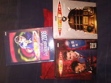 JOBLOT OF DR WHO BOOKS..THE VISUAL DICTIONARY plus others