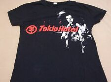 Tokio Hotel Graffiti Name Logo Juniors Large T shirt Free U.S. Shipping Look