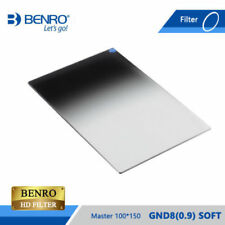 Benro Master Series GND4(0.6) 100x150mm Soft-Edged Graduated ND Filter, 2 Stop