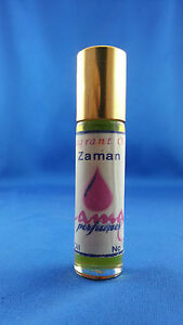 "Zaman ""Old Times"" Fragrant Oil Attar Perfume 100% Oil No Alcohol Fragrance"