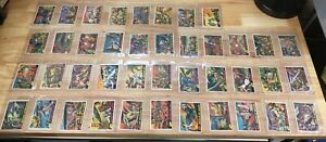 Rare 1962 Topps MARS ATTACKS! Cards Partial Set 41/55 Ungraded Lot - Sci-Fi