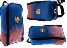 FC BARCELONA LICENSED SCHOOL GYM  KIT SPORTS SHOE BOOT BAG SHINPAD  BOOTBAG (FD)
