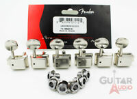 Genuine Fender Classic Gear 2-PIN MOUNT Strat/Tele Machine Head Tuning Keys