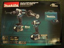 MAKITA XT268M Cordless Combo Kit 18 Volt Lithium‑Ion Brushless LXT HDRILL IMPACT