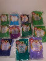 McDonald's TY Teenie Beanie Babies 1999 LOT New in Package Rate VTG