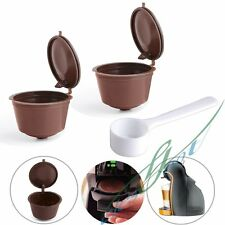 4 PCS Refillable Reusable Coffee Capsules Pod Cup for Nescafe Dolce Gusto