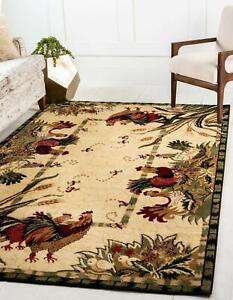 Rooster Rectangle Area Rugs For Sale Ebay