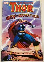 2010 Marvel Comics The Mighty Thor Vs. Seth, The Serpent God Graphic Novel Book