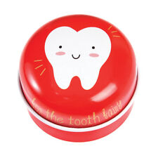 Rex London Red Tooth Fairy Tin