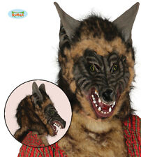 Halloween Story Book Wolf Mask With Hair