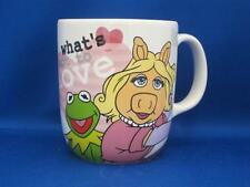 Kermit Frog & Miss Piggy What's Not To Love Coffee Mug Muppets Pig Disney Store