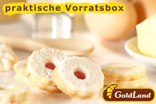 GoldLand Feingebäck 1Kg Kekse in Vorratspackung, Plätzchen, Gebäckmischung
