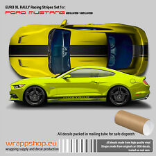 Ford Mustang 2015 - 2019 EURO XL RALLY Racing Stripes
