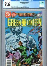 Green Lantern #170 CGC 9.6 White Pages DC Comics 1983