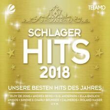 SCHLAGER HITS 2018  3 CD+DVD NEUF
