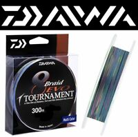 DAIWA 8 x Braid Line Tournament EVO 300m / Multicolor