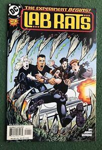 Lab Rats #1 DC Comics Copper Age The Experiment Begins John Byrne vf