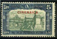 Cirenaica 1930 Sass. 71 Nuovo ** 100% Milizia III