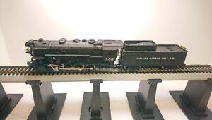 Rivarossi HO Train Indiana Harbor Belt 0-8-0 Powered Steam Locomotive & Tender