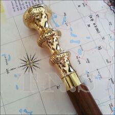 Victorians Style Brass Designer Vintage look Wooden Walking Cane Walking Sticks