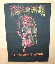 Cradle of Filth , Get thee behind me Satan Backpatch 2004, rar, rare