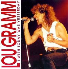 LOU GRAMM - I Wish Today Was Yesterday - CD - Neu OVP - FOREIGNER