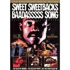 DVD Sweet Sweetback's Baadasssss Song 30th Anniversary Special Edition