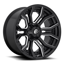 "20 Inch Black Wheels Rims 2011-2020 GMC Sierra Truck 2500 3500 20x10"" 8x180 NEW"