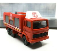 Majorette Renault J Fire Truck Red Fire Brigade 1/100 261/265A no Package