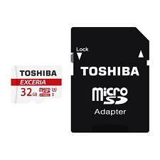 32GB SDHC Toshiba Exceria M302 Uhs-Iii Scheda di Memoria Micro Sd 90MBs con