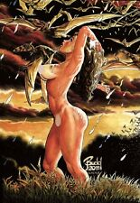BUDD ROOT'S CAVEWOMAN SISTERS OF THE ARENA #2 VARIANT COVER E 500 COPIES W/COA
