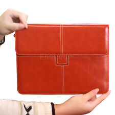"""Luxury Leather Briefcase Pouch Sleeve Bag Case For Most 7.9 - 8"""" Tablets PC iPad"""