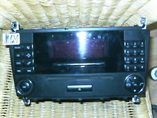 Mercedes 203 radio CD audio 20 w203 AB Mopf Sport Coupe teléfono 2038273842