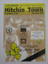 Teams F-K Hereford United Football FA Cup Fixture Programmes