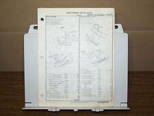 1970 1971 1972 PONTIAC LEMANS TEMPEST GTO FACTORY OEM PART NUMBER LIST gtc