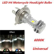Super Bright H4 Dual COB 18W 1400Lm Motorcycle Headlight Bulb H/L Lamp DRL Light
