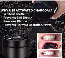 100% Natural ORGANIC Teeth Whitening Activated Bamboo Charcoal Powder