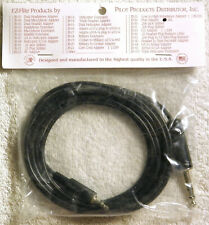 IPOD / MP3 PLAYER ADAPTER, 11 FT CABLE, JB-26L PILOT AVIATION