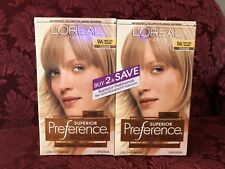 Loreal Superior Preference  9A Light Ash Blonde, 2 Pack