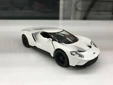 2017 Ford GT white car model kinsmart TOY 1/38 scale diecast present open doors