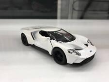 2017 Ford GT weiß automodell kinsmart SPIELZEUG 1/38 skala-modelle
