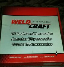 WELDCRAFT EK-1-25  25' WATER COOLED TIG TORCH EXTENSION CABLE SET