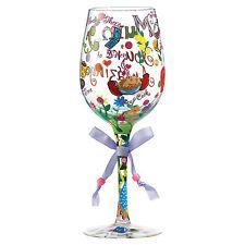 Lolita maman tu es incroyable verre vin G28009